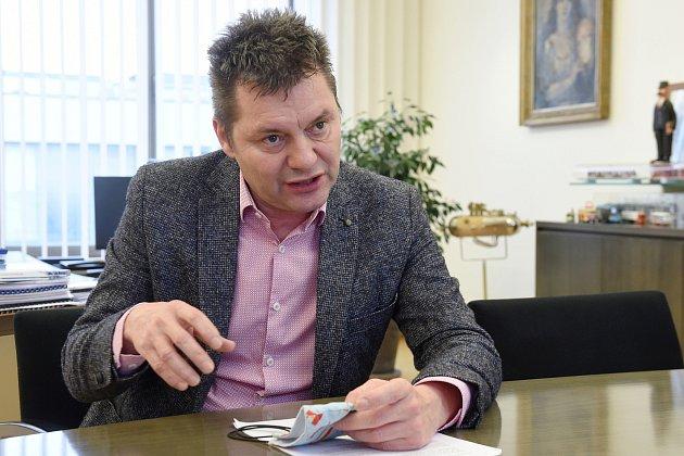 Miloš Havránek, generální ředitel Dopravního podniku města Brna