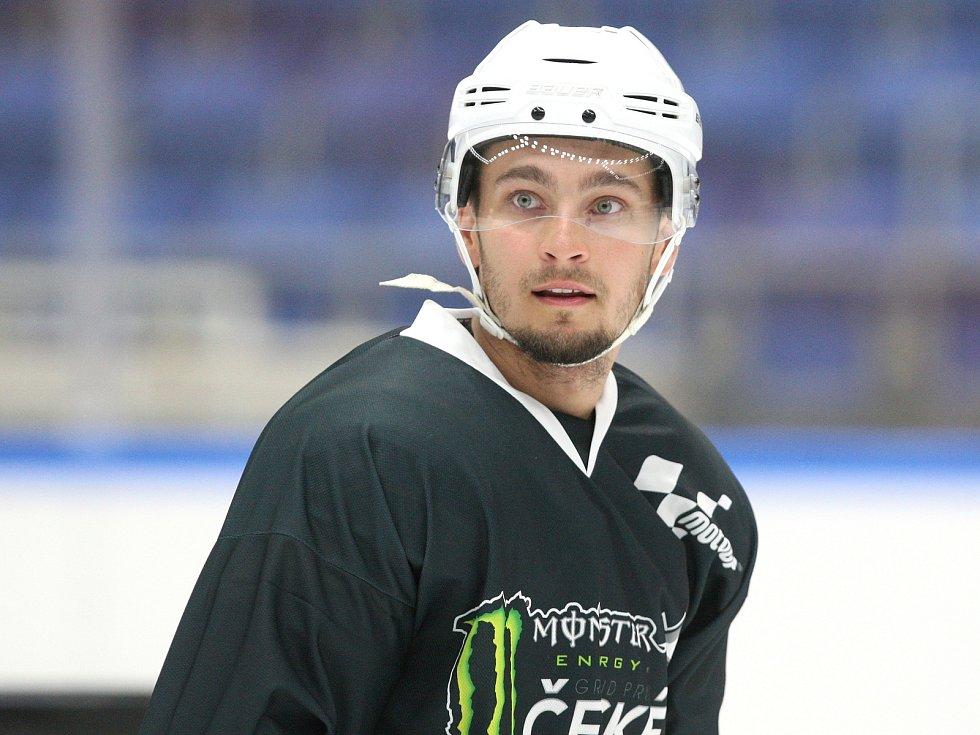 Jezdci Moto GP si zahráli hokej s hráči Komety Brno - Karel Abraham