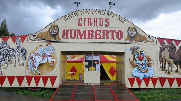 Cirkus Humberto v Brně.