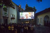 Letní kino Brno-střed.