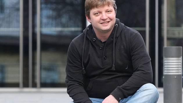 Brněnský herec Michal Isteník.