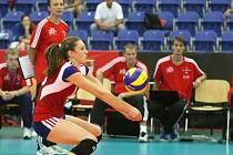 Domácí volejbalistky vstoupily do juniorského mistrovství světa v Brně vítězstvím 3:1 nad Portorikem.
