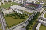 Nejen stadion v Srbské ulici, ale i jeho okolí projde podle plánů proměnou.