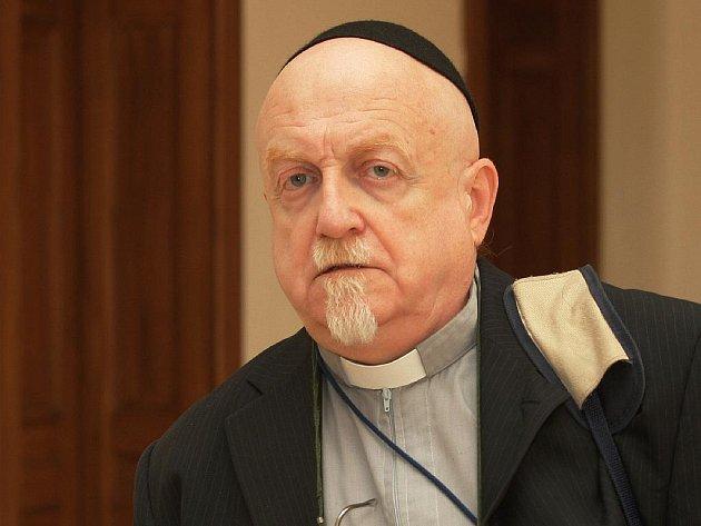 Jiří Šob u soudu.