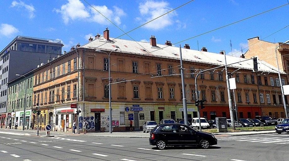 Činžovní dům v ulici Milady Horákové 19 v Brně.