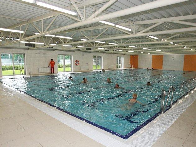 Bazén v Řečkovicích.