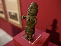 Království Benin - Bronzy zkropené krví. Organizátoři výstavy zvou do brněnského Paláce šlechtičen.