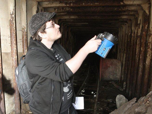 Redaktor Rovnosti Jiří Hanák (na snímku) zkoumal brněnské podzemí s expertem Alešem Svobodou.