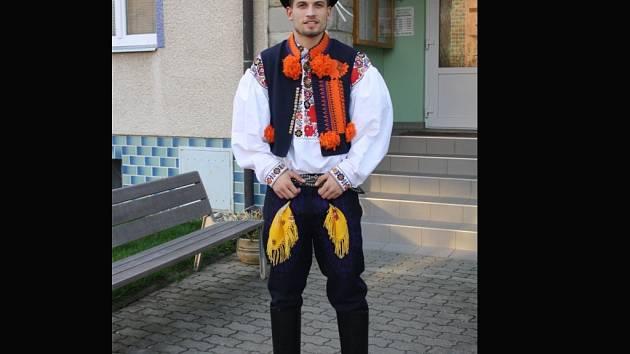 Muž roku 2014 Tomáš Dumbrovský z Brna.