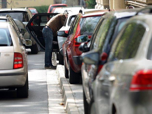 Parkování v Brně. Ilustrační foto.