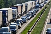 Zablokovaná dálnice