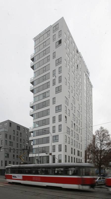 Bytový dům v brněnské Lidické ulici.