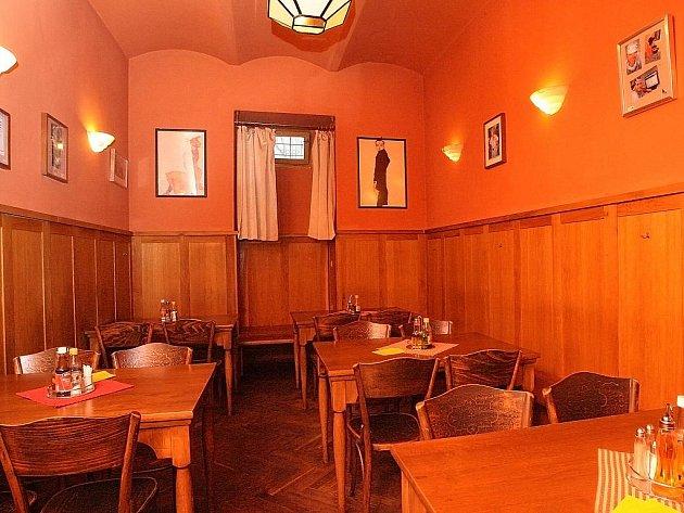 Restaurace Zelená kočka.