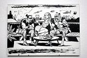 Brněnský Dům umění zahájil očekávanou výstavu Signály z neznáma, která představuje devadesátiletou éru českého komiksu.