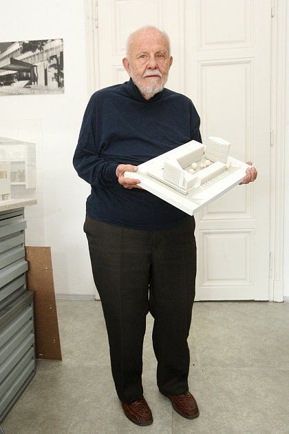Architekt Ivan Ruller oslavil devadesáté narozeniny.