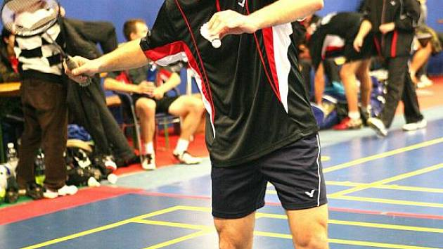 Badmintonista Jan Vondra.