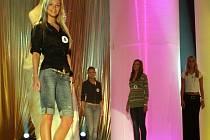 Přípravy na Miss 2007 v brněnském Boby centru.