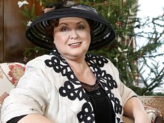 Z brněnské vily Stiassni vysílali Sama doma. Hlavním hostem pořadu byla herečka Naďa Konvalinková.