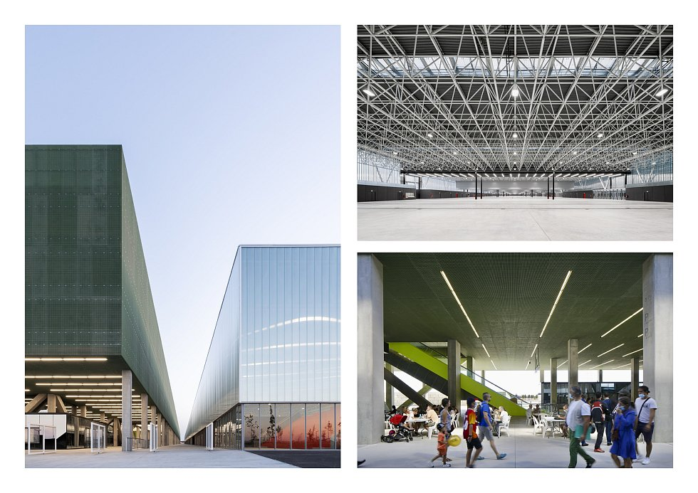 Výstavní a kongresové centrum MEETT, Toulouse, Francie.
