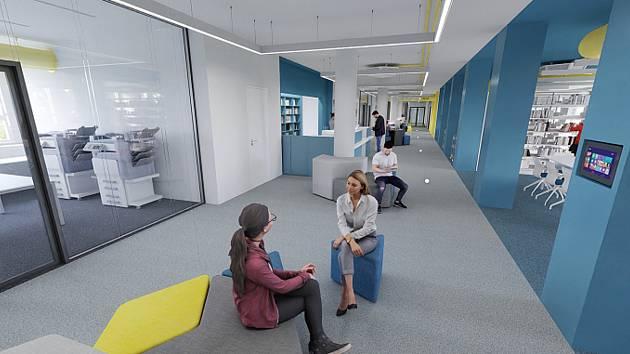 Na Fakultě strojního inženýrství brněnské techniky začala v pondělí s novým semestrem také modernizace za půl miliardy korun.