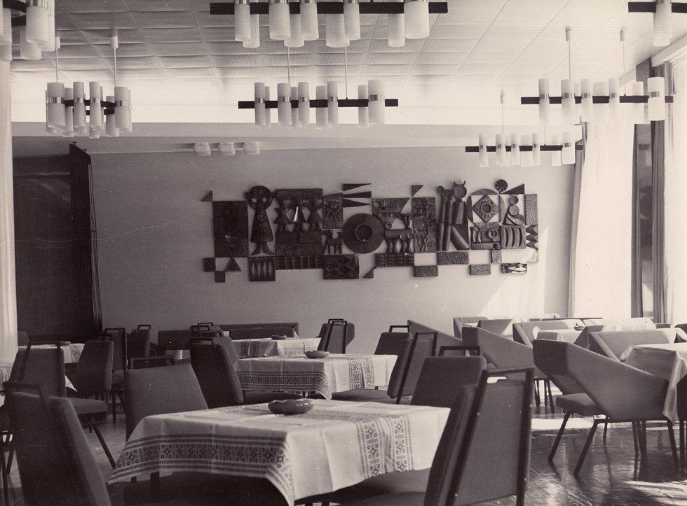 Klub umělců Janáčkova divadla v roce 1965.