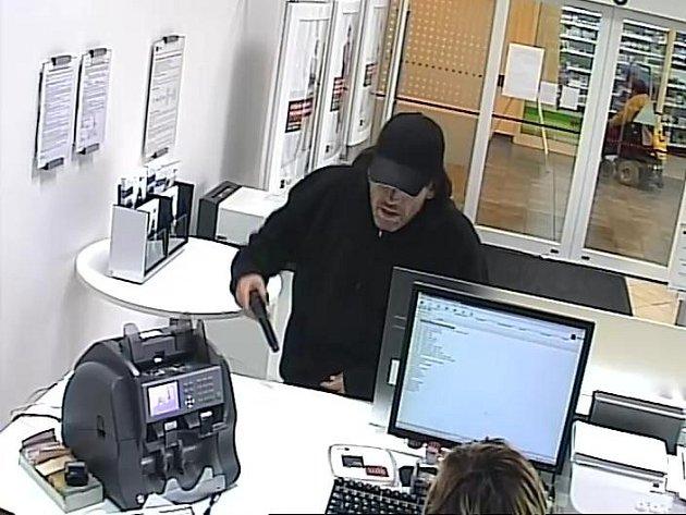 Policisté hledají lupiče, který se v pátek odpoledne pokusil vykrást banku v brněnské Vídeňské ulici.