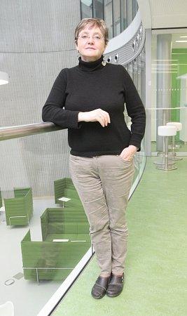 Slavná vědkyně, bioložka Mary O'Connellová, která pracuje ve Středoevropském technologickém institutu Masarykovy univerzity vBrně Ceitec.