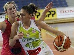Basketbalistka Andrea Sládková.