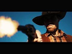 Politické hnutí láká voliče například na video s westernovou tematikou.