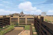 Komplex nazvaný Palác Trnitá Nabídne sto šedesát bytů, 400 parkovacích míst ve třech podzemních parkovacích podlažích a komerční plochy s rozlohou osmi tisíc metrů čtverečních.