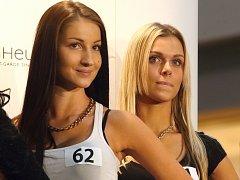 Casting České Miss v Modřicích na Brněnsku.