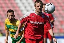 Levonohý záložník či obránce Tomáš Oklešťek je jedním z těch, na které v kádru 1. FC Brno nezbylo místo.