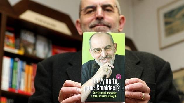 Známý moderátor, publicista a překladatel Ivo Šmoldas.
