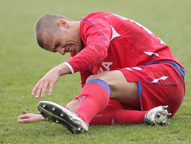 Zraněný Martin Kuncl