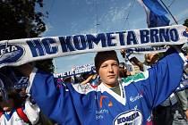 Fanoušci mají o permanentky na Kometu obrovský zájem. Vyprodají Rondu už před sezonou?