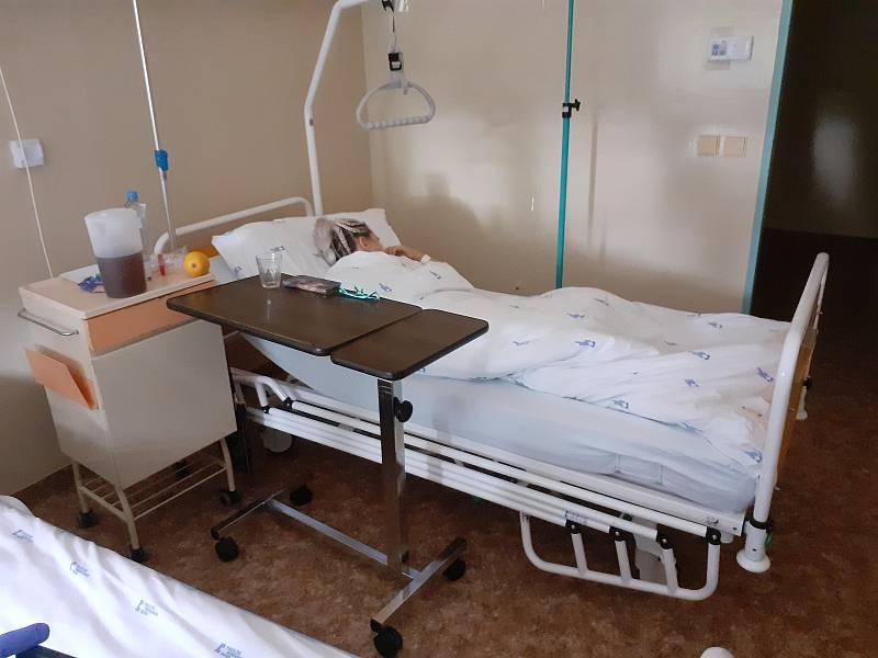 Dvanáct pacientů aktuálně leží s koronavirem v bohunické fakultní nemocnici v Brně.