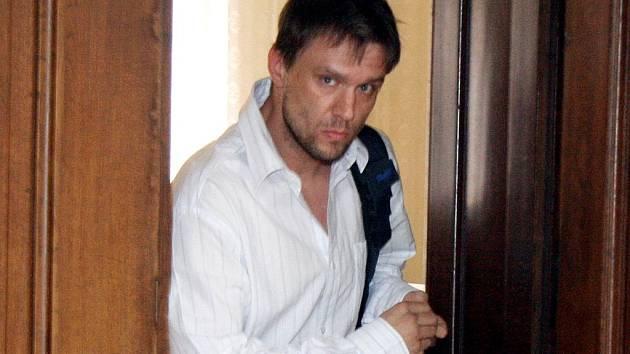 Obžalovaný Marek Vraný z Břeclavi