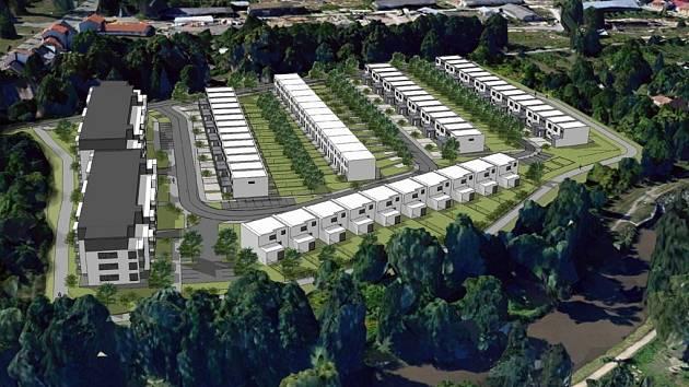 Na levém břehu Svitavy začne podle odhadu stavební firmy po roce 2020 vznikat bydlení pro více než čtyři stovky lidí. Proti původně většímu projektu někteří obyvatelé brněnských Maloměřic a Obřan sepisovali loni petici.