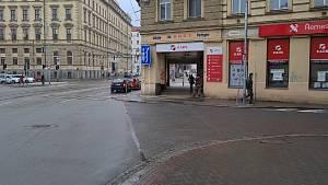 Přepadení v centru Brna