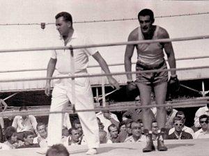 Brněnský boxer František Poláček