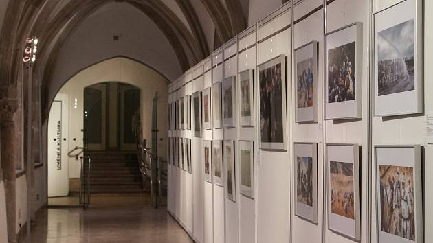 Výstava Czech Press Photo poprvé za pětadvacet let fungování zavítala i do Brna. Lidé ji navštíví v Křížové chodbě Nové radnice.