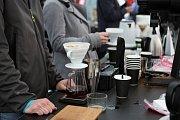 Týden kávy nabídl zájemcům desítky druhů káv.