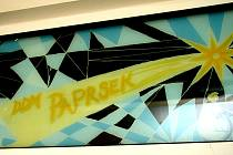 Logo domu dětí a mládeže Paprsek