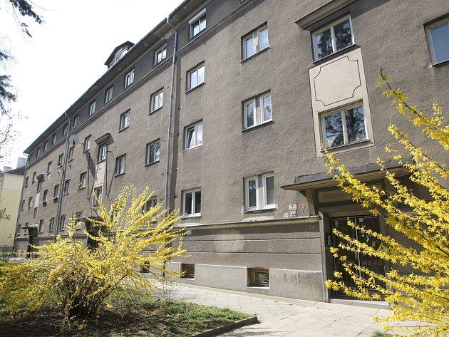 Dům v Skopalíkově ulici v brněnských Židenicích.