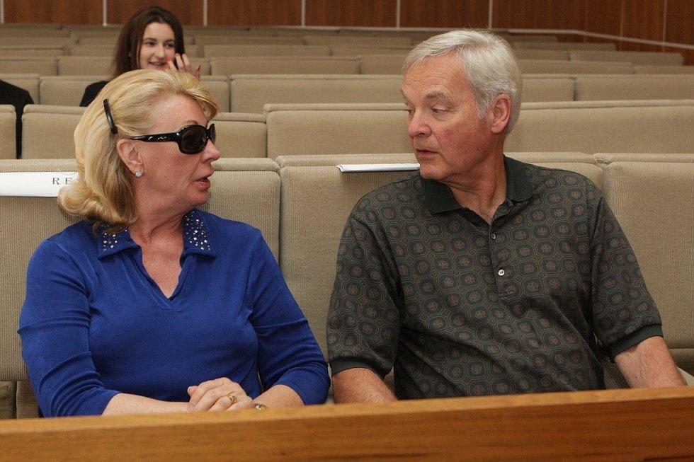 Rodiče Kevina Dahlgrena.