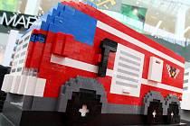 LEGO hasičská akademie v Olympii.