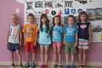 Předškoláci ze třídy Medvídci