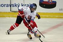 Česká juniorská reprezentace podlehla v Břeclavi Kanadě 2:5.