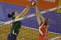 Volejbalistka KP Brno Romana Staňková.