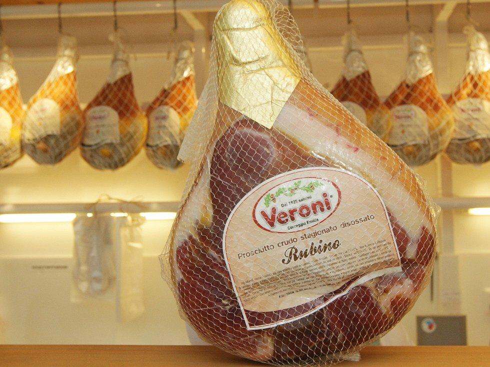 Uzeniny prodávají například v Gran Moravia na brněnském Zelném trhu.